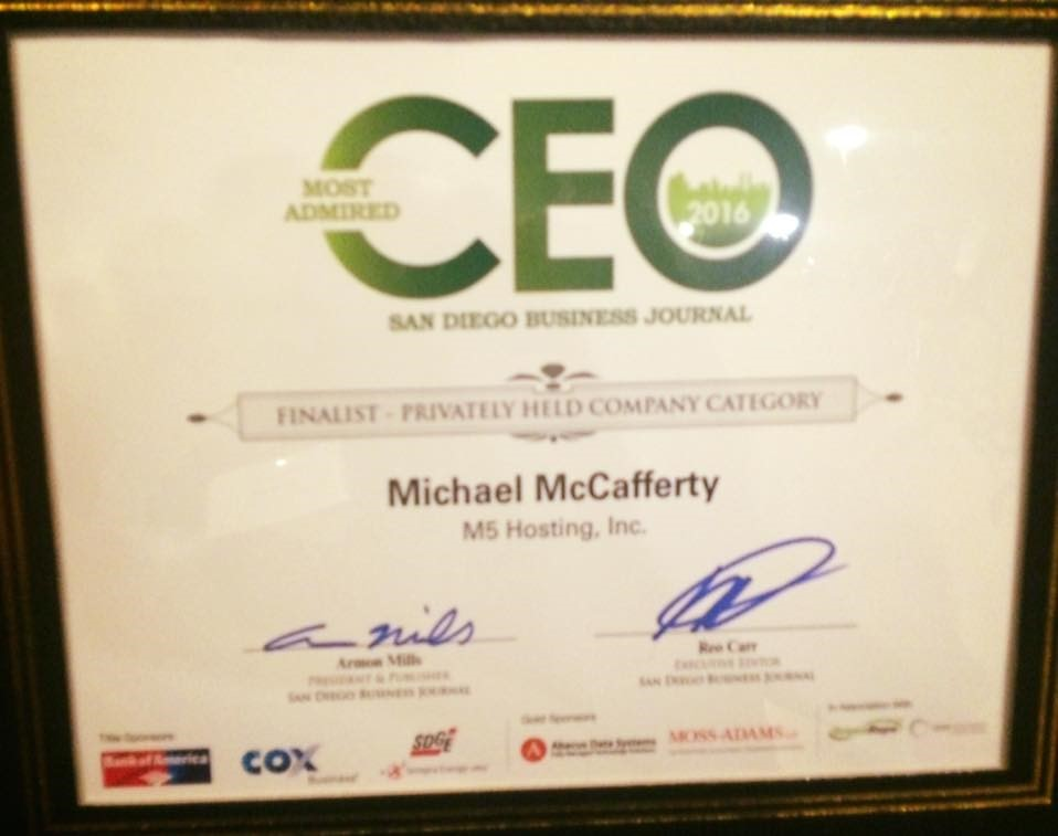 Mike CEO Cert